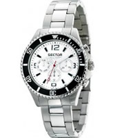 Buy Sector Mens 230 Range Multi Dial Steel Watch online