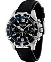 Buy Sector Mens 230 Range Multi Dial Black Watch online