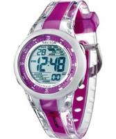 Buy Sector Street Digital Two Tone PU Strap Watch online