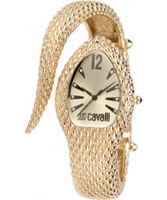 Buy Just Cavalli Ladies Gold Poison Watch online