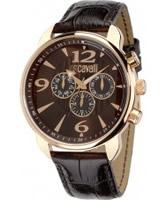 Buy Just Cavalli Mens Brown Earth Multifunction Watch online