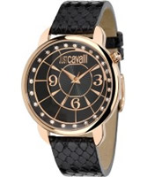 Buy Just Cavalli Ladies Gold and Black Trendy Watch online