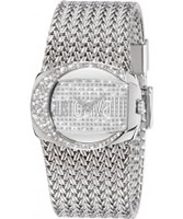 Buy Just Cavalli Ladies Silver Rich Watch online