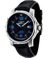 Buy Sector Mens Black Eagle Leather Watch online