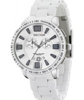 Buy Sector Mens 400 Range Chronograph White Steel Watch online
