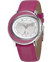 Buy Just Cavalli Ladies Pink Lac Watch online