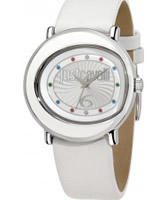 Buy Just Cavalli Ladies White Lac Watch online