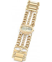 Buy Just Cavalli Ladies Gold Trinity Watch online