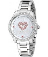 Buy Just Cavalli Ladies Silver Shiny Watch online