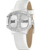 Buy Just Cavalli Ladies White Born Watch online