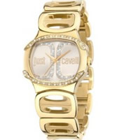 Buy Just Cavalli Ladies Gold Born Watch online
