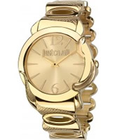 Buy Just Cavalli Ladies Gold Eden Watch online