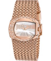 Buy Just Cavalli Ladies Rose Gold Rich Watch online