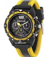 Buy Sector Mens Expander 90 Multi Dial Two Tone Watch online
