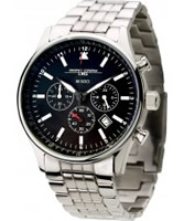 Buy Jorg Gray Mens Commemorative Matt Black Steel Watch online