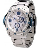 Buy Jorg Gray Mens Silver Blue Watch online