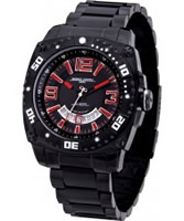 Buy Jorg Gray Mens Black Red Watch online