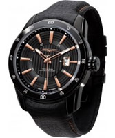 Buy Jorg Gray Mens Black Analogue Watch online