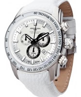 Buy Jorg Gray Mens White Chronograph Watch online