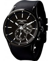 Buy Jorg Gray Mens Black Multifunction Watch online