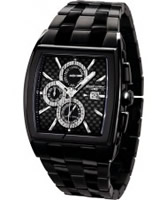 Buy Jorg Gray Mens Multifunction All Black Watch online