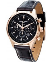Buy Jorg Gray Chronograph Rose Gold Watch online