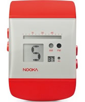 Buy Nooka Grey Red Chronograph Watch online