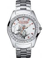 Buy Marc Ecko Mens Encore Stone Set Silver Watch online