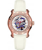 Buy Marc Ecko Midsize Flyaway White Rose Gold Watch online