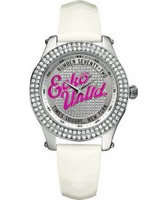 Buy Marc Ecko Midsize Rollie Silver White Watch online