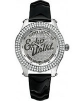 Buy Marc Ecko Midsize Rollie Silver Black Watch online