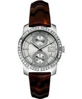 Buy Marc Ecko Ladies Paradise Silver Brown Watch online