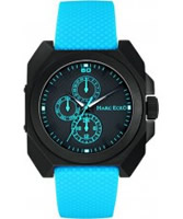 Buy Marc Ecko Mens Pastime Black Teal Watch online