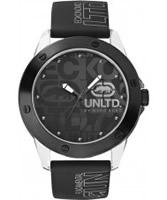 Buy UNLTD by Marc Ecko Mens The Tran Black Watch online