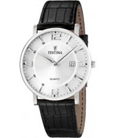 Buy Festina Mens Leather Strap Watch online