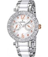 Buy Festina Ladies Multi-Function Ceramic Inlay Steel Watch online