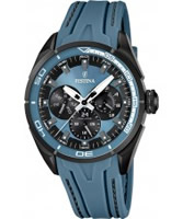 Buy Festina Mens Multi-Function Blue Rubber Watch online