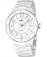 Buy Festina Ladies Ceramic White Watch online