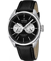 Buy Festina Mens Multi-Function Black Watch online