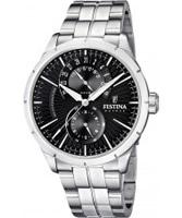 Buy Festina Mens Multi-Function Steel Watch online