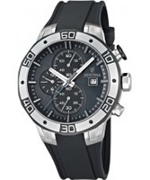 Buy Festina Mens Grey 2013 Tour of Britain Chrono Watch online