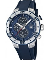 Buy Festina Mens All Blue 2013 Tour of Britain Chrono Watch online
