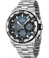 Buy Festina Mens Blue and Silver 2013 Chrono Bike Watch online