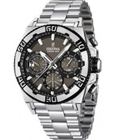 Buy Festina Mens Brown and Silver 2013 Chrono Bike Watch online