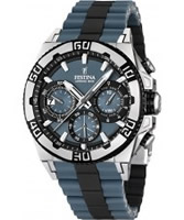 Buy Festina Mens Blue and Black 2013 Chrono Bike Watch online