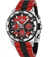 Buy Festina Mens Red and Black 2013 Chrono Bike Watch online