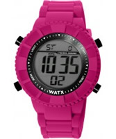 Buy WATX Black and Pink Hawaii Original Digital Watch online