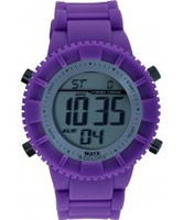 Buy WATX Purple Flowerpower Original Digital Watch online