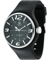 Buy Marea Mens Black Rubber Watch online