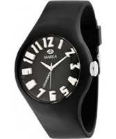 Buy Marea Nineteen Black Silicone Strap Watch online